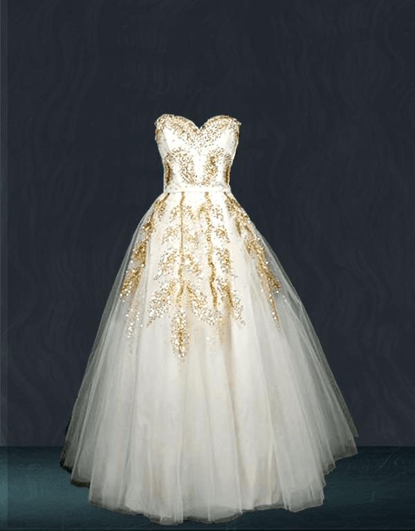 Bridal-white-gown